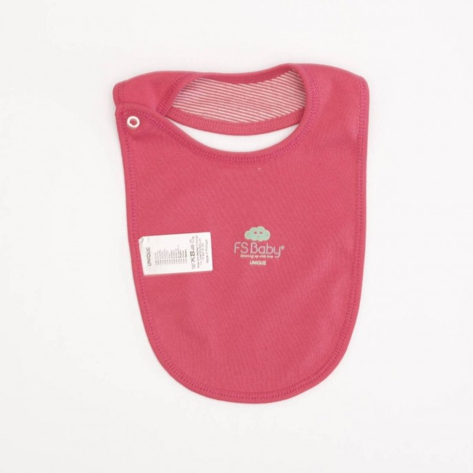 Bib Love Mum & Dad Pink Stripes