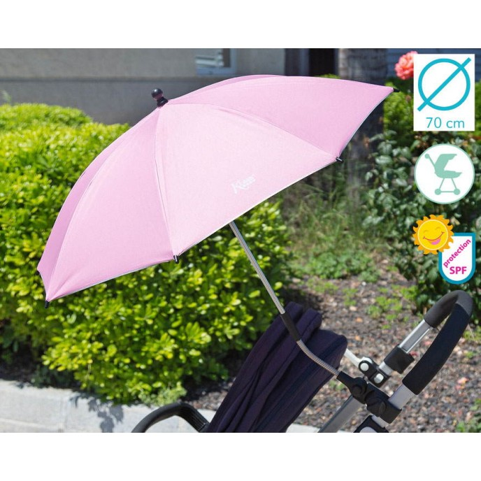 Kiokids Parasol with UV Protection Pink