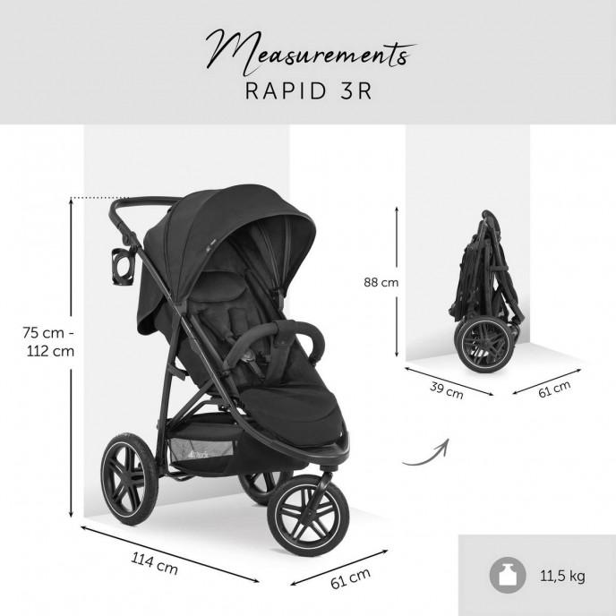 Hauck Rapid 3R Black
