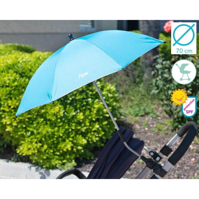Kiokids Parasol with UV Protection Blue