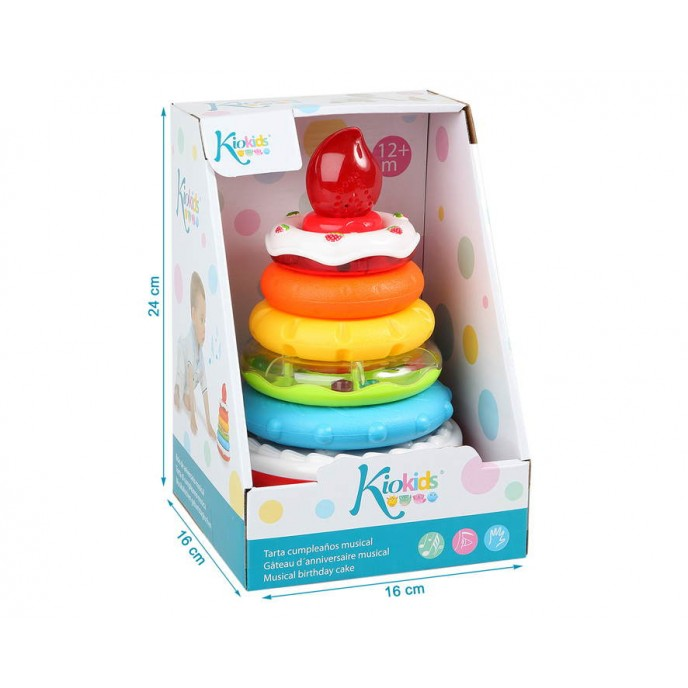 Kiokids Stacking Rings With Lights and Sounds
