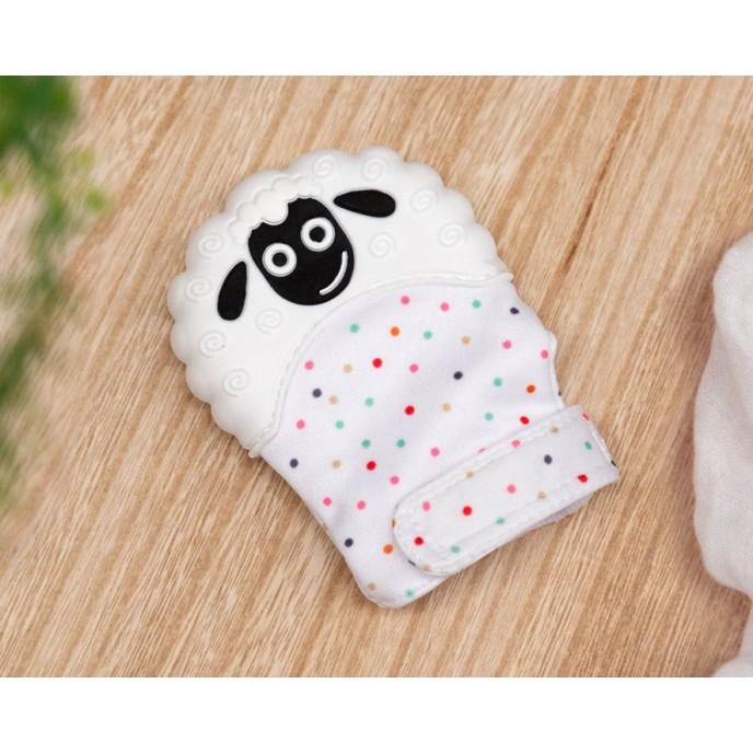 Kiokids Glove Teether Sheep 10cm