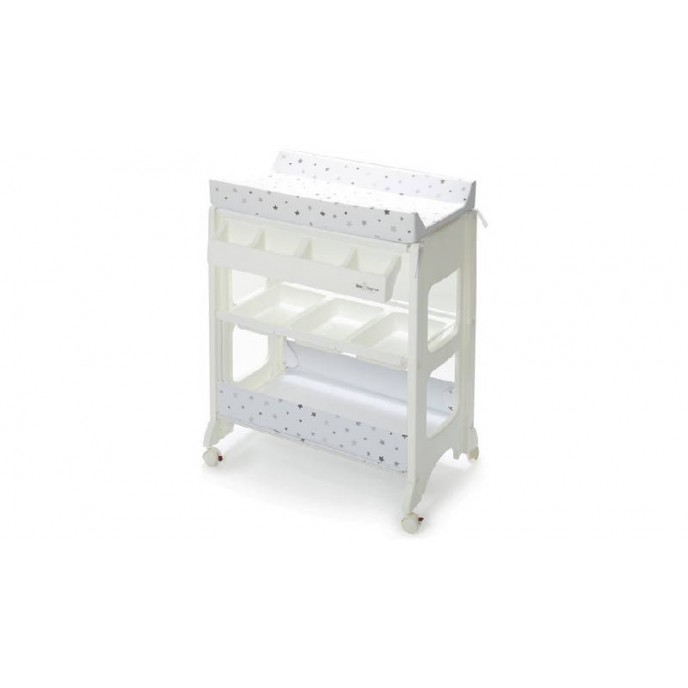 Baby Elegance Changing Unit Grey Star