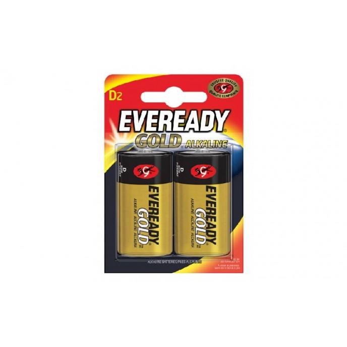 Batteries Eveready Gold Alkaline D
