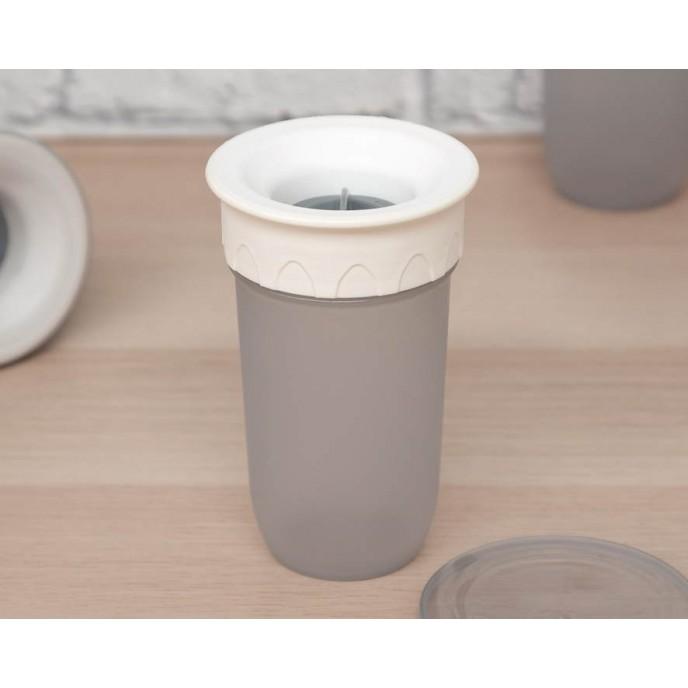 Kiokids 360 Sippy Cup 300ml Grey
