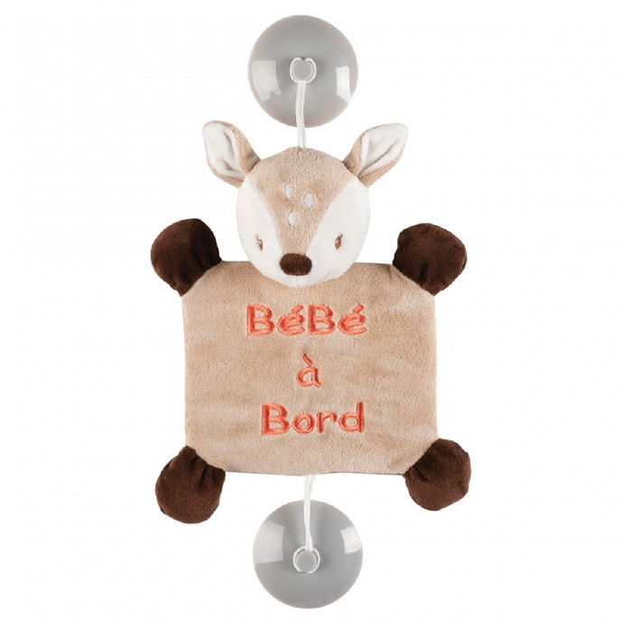 Nattou Baby on Board Fanny the Deer