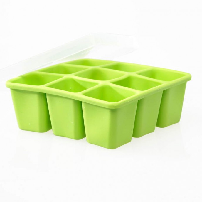 Nuk Food Freezing Cube Tray with Lid