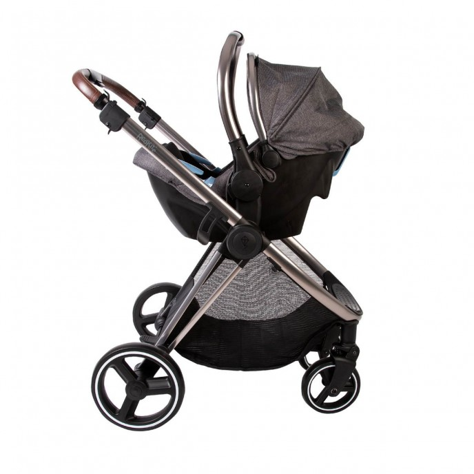 Red Kite Travel System Push Me Pace Icon Grey