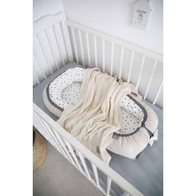 Tiny Star Baby Nest Confetti and Beige
