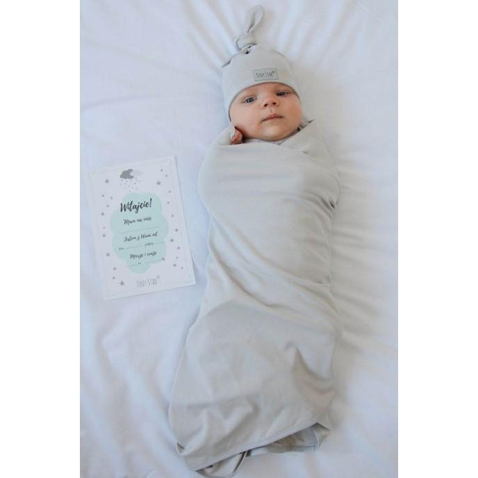 Tiny Star Newborn Swaddle Set Cloud