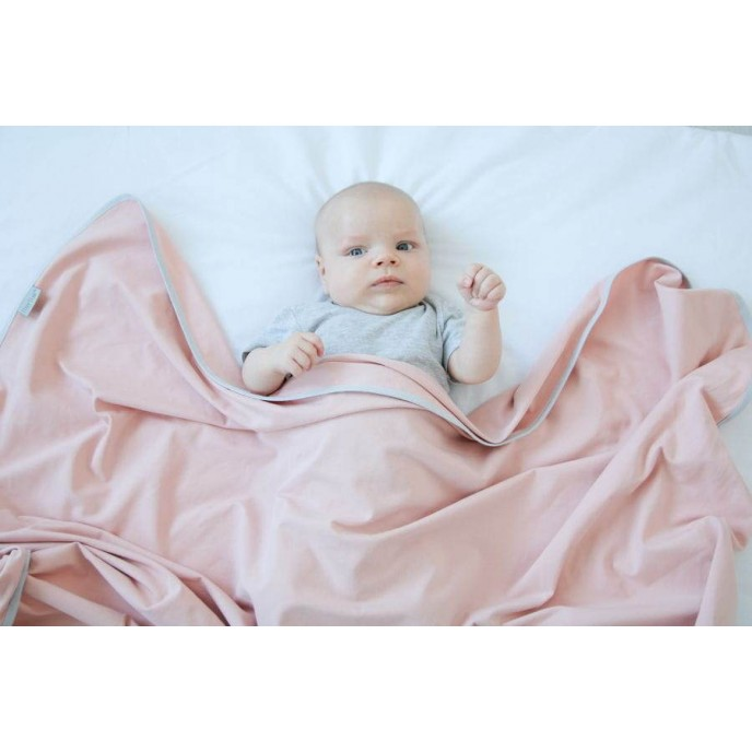Tiny Star Newborn Swaddle Set Rosewater
