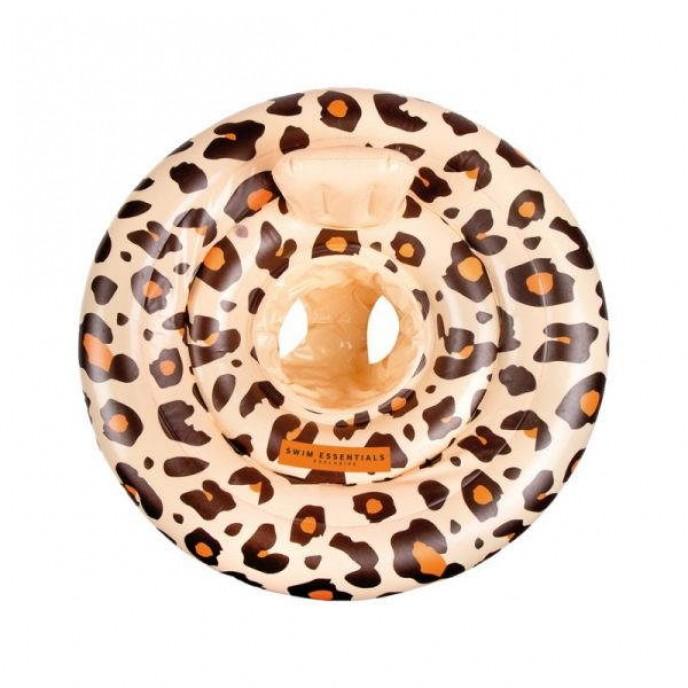 Swim Essentials Baby Float Size 1 Beige Leopard