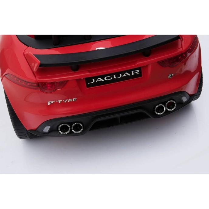 Chipolino Electric Car Jaguar SVR 4WD Red