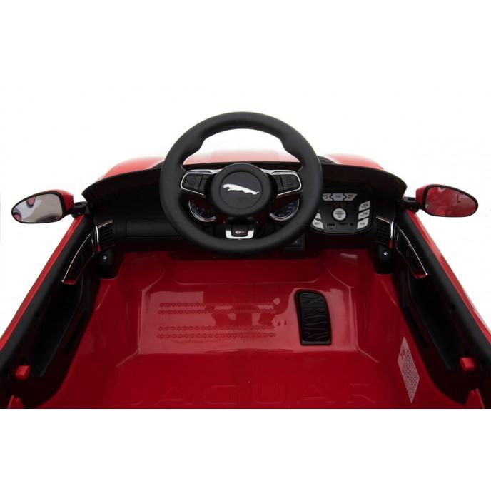 Chipolino Electric Car Jaguar SVR 4WD Black
