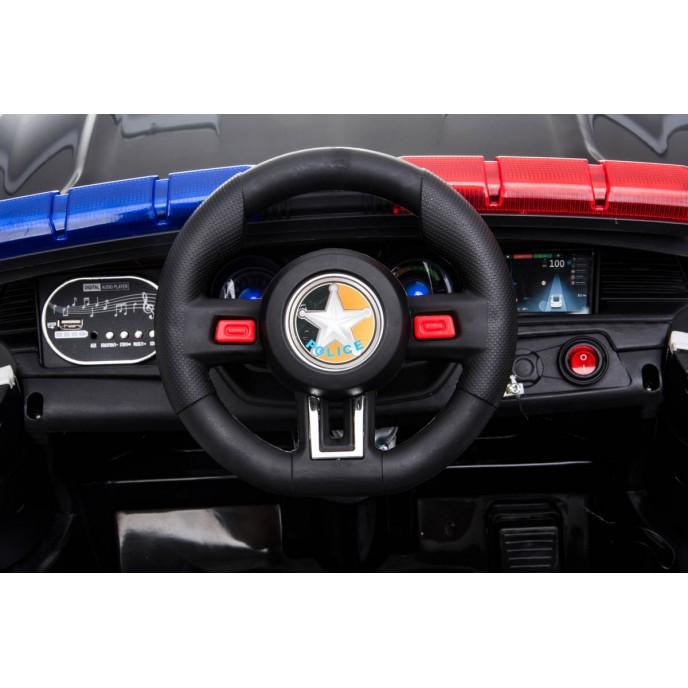 Chipolino Electric Car Police Black