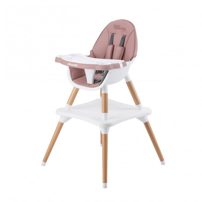 Chipolino Highchair Classy 3 In 1 Peony Pink