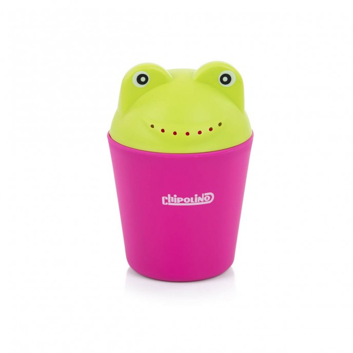 Chipolino Bath Rinse Cup Froggy Pink