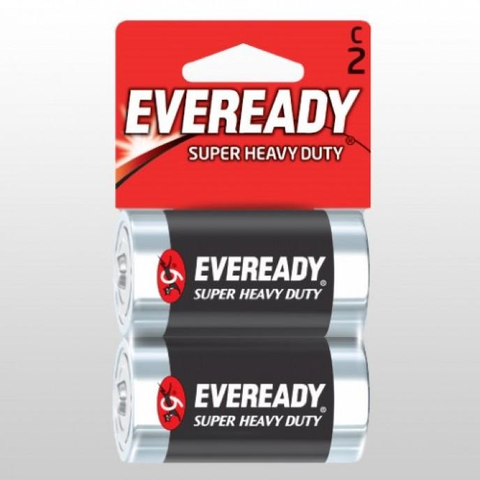 Batteries Eveready C Alkaline