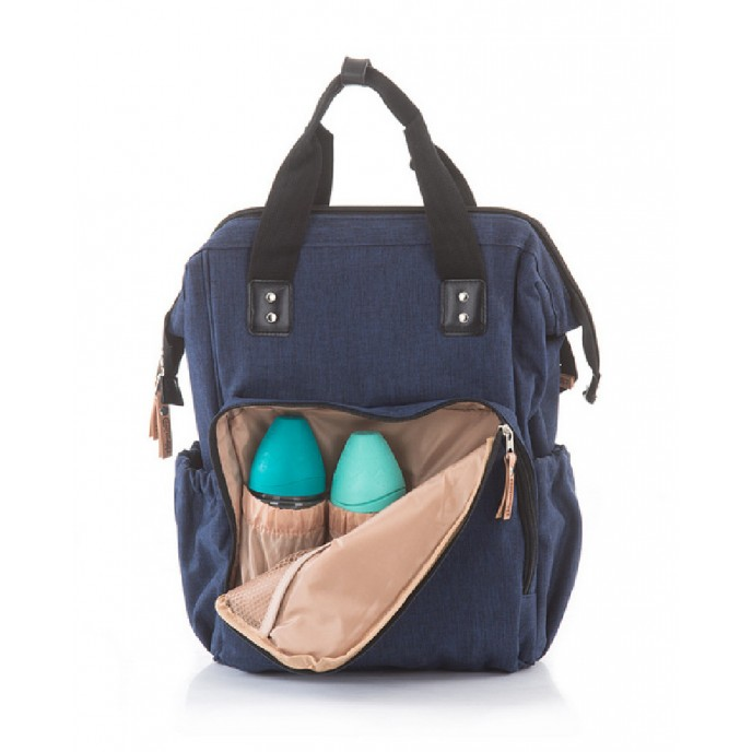 Chipolino Mama Backpack Denim Frappe