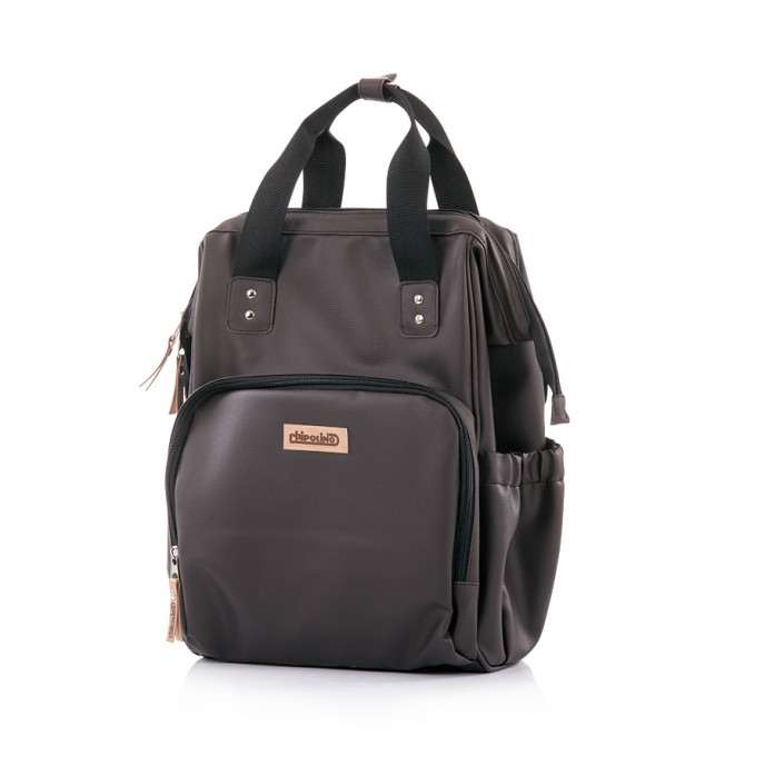 Chipolino Mama Backpack Brown Leather