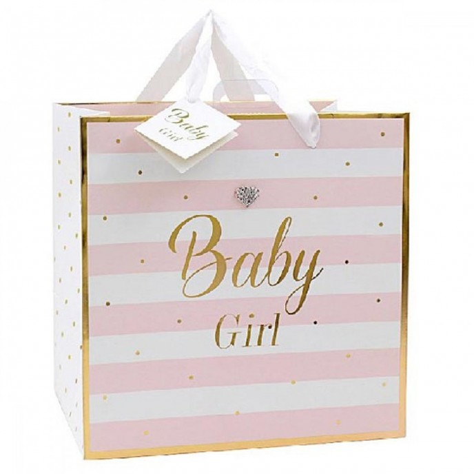 Baby Girl Gift Bag Medium