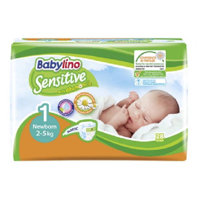 Babylino Senstive Nappies Sz1