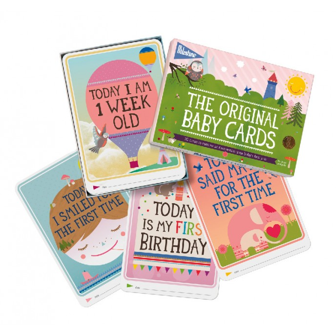 Milestone Baby Cards - The Original