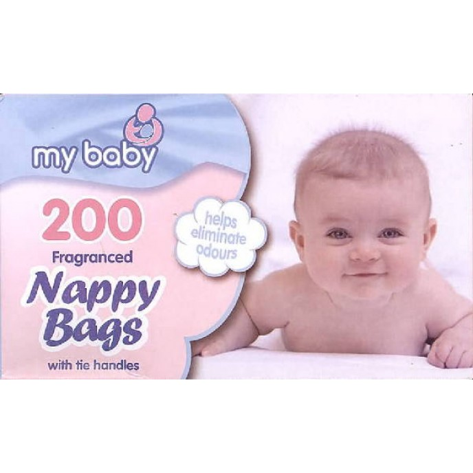 Nappy Bags with Handles x200