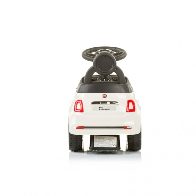Chipolino Ride On Car Fiat 500 White