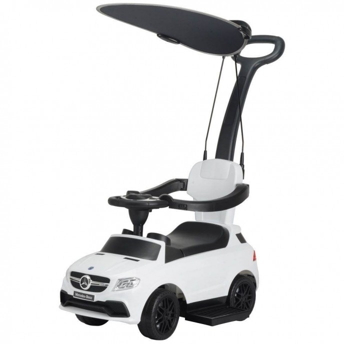 Chipolino Ride On Car with Canopy Mercedes GLE63 White