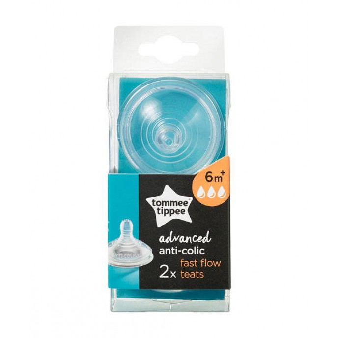 Tommee Tippee Teat Anti Colic 6m+